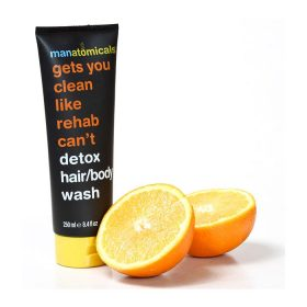 Anatomicals Gets You Clean Like Rehab Can't Detox Hair and Body Wash