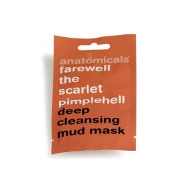 Anatomical deep cleansing face mask farewell the scarlet pimpelhell