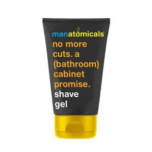 Manatomicals No More Cuts a Bathroom Cabinet Promise Shave Gel