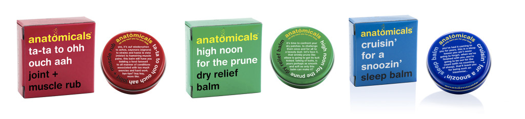 anatomicals balms