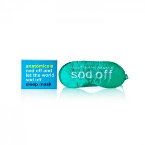Anatomicals nod Off and Let The World Sod Off Sleep Mask