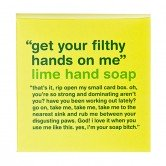 Anatomicals Hotel and Travel Amenity Kit Get Your FIlthy Hands Off Me Lime Hand Soap